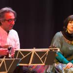 Hamid Motebassem und Sepideh Raissadat