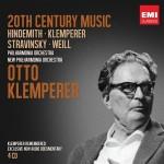 """Otto Klemperer """"20th Century Music: Hindemith · Klemperer · Stravinsky · Weill"""""""