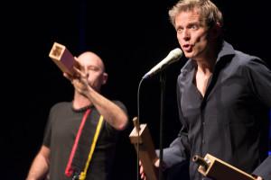 Christian Zehnder und Gregor Hilbe, 15.1.2014, Tak, Schaan (FL) - Foto: The Noise